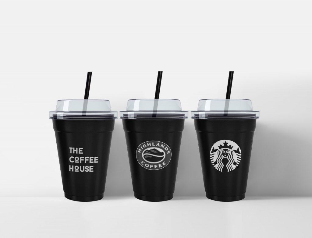 LY NHỰA CAFE ĐẸP HCM